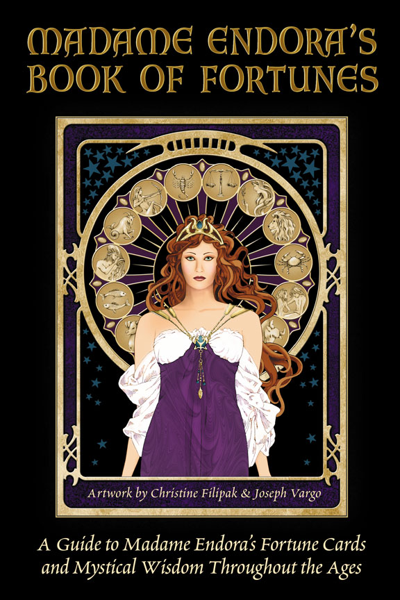 Madame Endora's Book of Fortunes & Fortune Cards