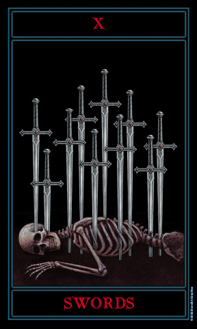 I Am Blessed The Gothic Tarot by Jo...