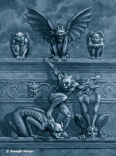 Gargoyles poster