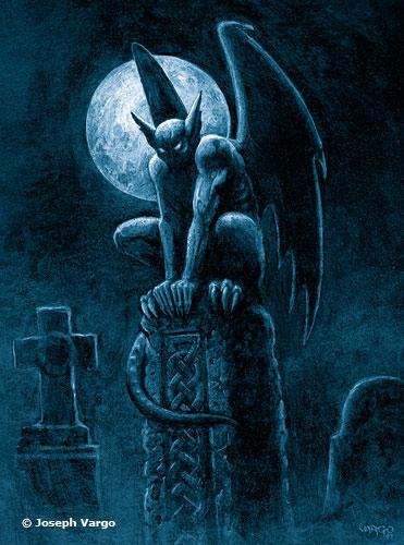 gothic fantasy posters by joseph vargo. Black Bedroom Furniture Sets. Home Design Ideas