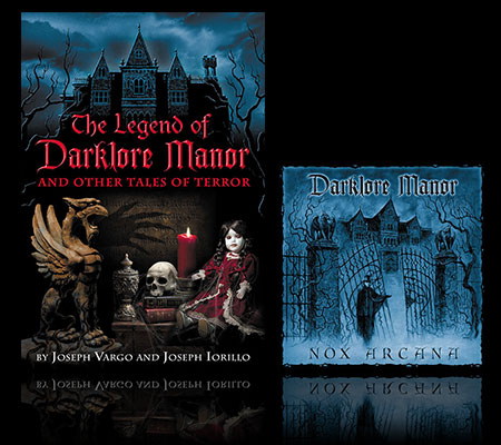 Darklore Manor Book & CD